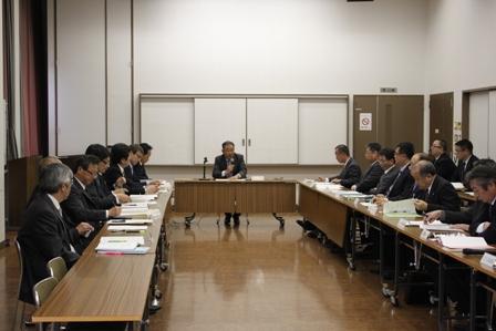 部長会議開催風景